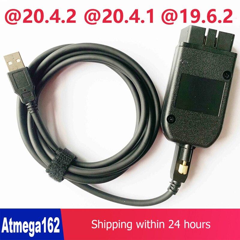 VAGCOM 20 4 1 VAG COM 20 4 2 HEX CAN USB Interface FOR VW AUDI Skoda Seat VAG 19 6 2 ATMEGA162 16V8 FT232RQ Multi-languages