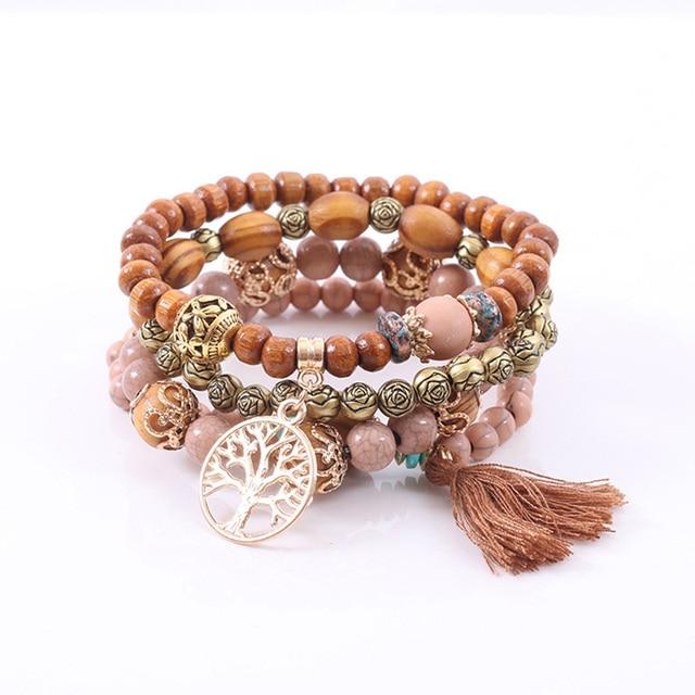 Rose sisi jewelry friends bohemian bracelets for women bracelet natural stone bracelet Fashion ladies clothing accessories 1