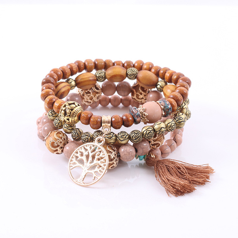 CHENFAN jewelry friends bohemian bracelets for women bracelet natural stone bracelet Fashion ladies clothing accessories(China)