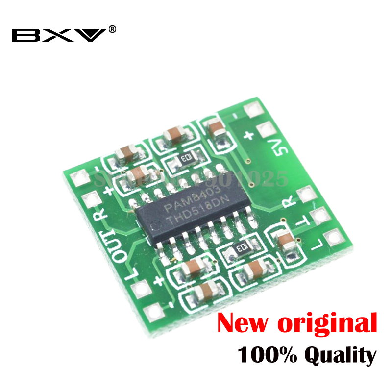 1PCS 8403 PAM8403 3W * 2 Stereo Filterless Class-D Audio Amplifiers New