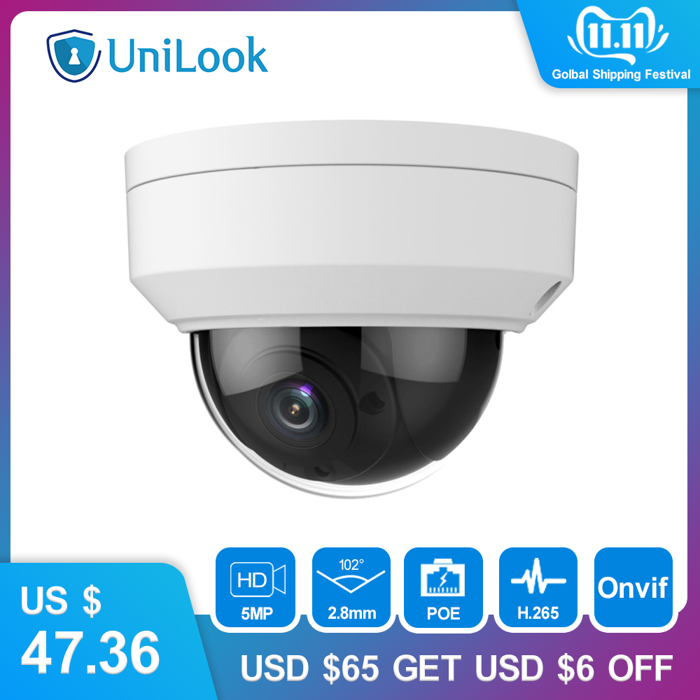 Hikvision 2MP POE IP Dome Network Camera 2.8mm 110° View Angle Outdoor 2Axis