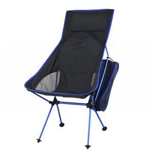 Image 5 - Taşınabilir katlanabilir ay sandalye sağlam uygun Ultralight plaj koltukları yürüyüş balıkçılık kamp için açık arkalığı sandalyeler