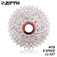 ZTTO 8 Speed 11-32T Bicycle Cassette Mountain Bike 8speed Steel 8s 8v K7 Freewheel Flywheel Parts For M410 M360 M310
