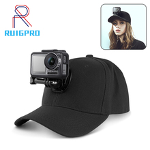 DJI Spirit Eye Osmo Action gorra de béisbol con cámara de acción subacuática, sombrero de estilo universitario