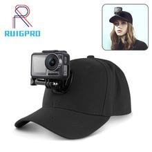 Dji 精神的な目 osmo アクション水中アクションカメラ固定帽子野球キャップカレッジスタイルのシェード帽子