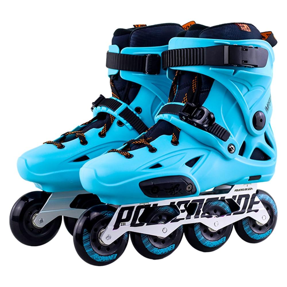 100/% Original 2018 Powerslide Imperial Inline Skates Professional Slalom Inline