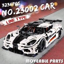 Seria samochodów Technic Supercar Model klocki klocki samochody wyścigowe dla dzieci zabawki kompatybilne nowy 20091 20087 22970 prezenty samochód sportowy