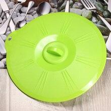 Силиконовые вскипятить над разливом крышка/консервационная крышка/крышка сковороды/печь безопасна вместо пластиковой обертки