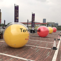 clear double layer square balloon Promotional PVC balloons Helium ballon Ground ball Party decorations