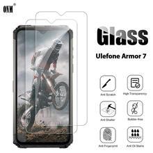 10Pcs กระจกนิรภัยสำหรับ Ulefone ARMOR 7 ป้องกันหน้าจอ Ulefone ARMOR 7 ป้องกันฟิล์มแก้ว
