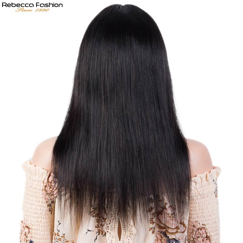 rebecca peruca reta t parte peruca de 04