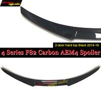 F82 Carbon Fiber Trunk Spoiler Wing M4 Style For BMW 4 Series 420i 428i 430i 435i 4 doors Hard top Sedan Tail Spoiler Wing 14 18|Spoilers & Wings|   -