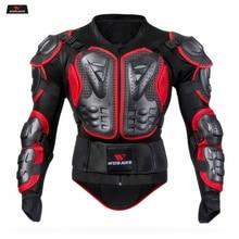 WOSAWE Motorrad Jacke Männer Voller Körper Rüstung Jacke Motocross Racing Schutz Getriebe Zurück Brust Shoullder Ellenbogen Schutz