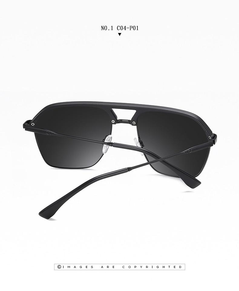 Classic Pilot Polarized Sunglasses Men Coating Mirror Sport Retro Sun Glasses Men Ride Travel Driving Fishing Eyewear Male UV400 (11)