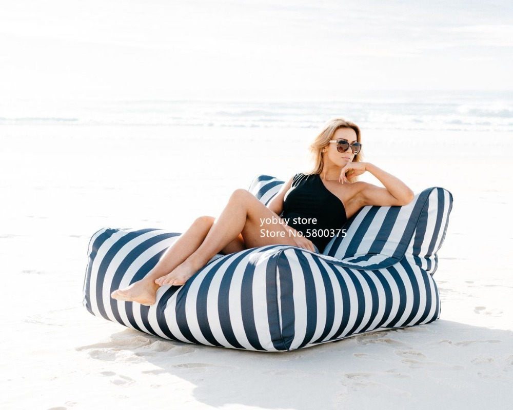 Large Size Water Floating Bean Bag Chair Made Of 420D Oxford-PVC Material 12