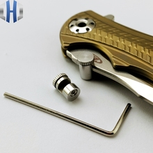 Knife 110 Thumb Stud Push Knife Button 416 Stainless Steel Material 11