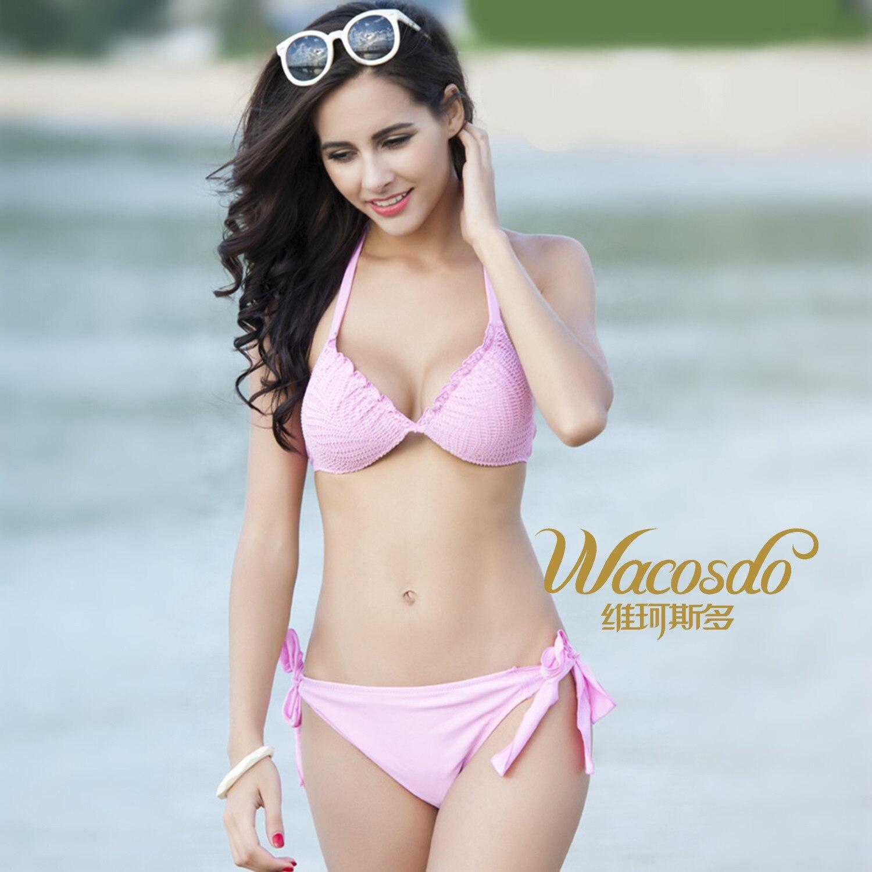 2174 Wei Ke Stoic New Style Sexy Women's Bikini Europe And America Bathing Suit Summer Swimwear High Quality