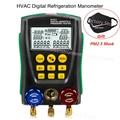 DY517 манометр холодильное цифровое вакуумное Давление Коллектор тестер метр HVAC температура тестер