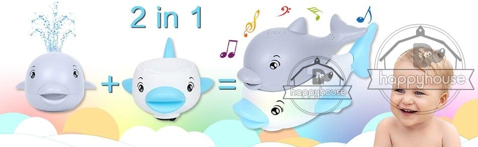 para crianças baleia elétrica bola de banho