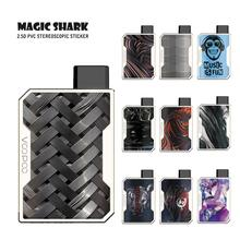 Magic Shark Stylish Harleen Quinzel Weaver Stone Colorful PVC Case Vape Sticker Skin Film for Voopoo Drag Nano new smok slm stick thick vapor pod vape kit 250mah electronic cigarette kit small vape pen kit vs smok nord drag nano minifit