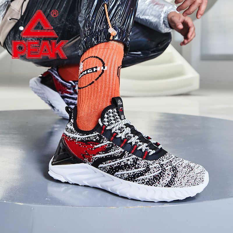 שיא TAICHI גברים קל משקל נעלי ריצה הלם קליטת ספורט נעלי נעלי ספורט חדר כושר אדפטיבית סניקרס TAICHI זוג נעליים