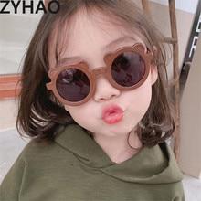 Bear Sunglasses Uv-Protection Pink Girls Kids Children Gafas Baby Boys Hombre Cartoon