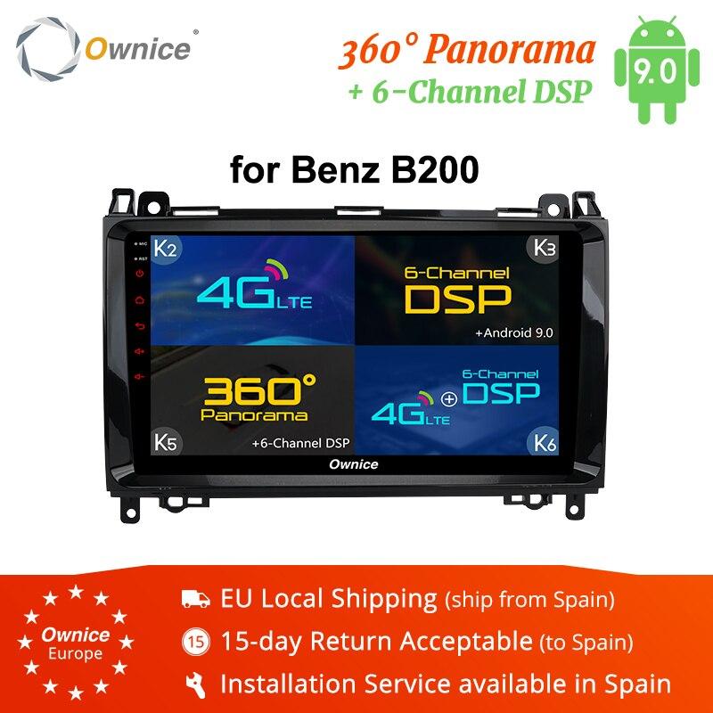 Ownice K1 K2 K3 k5 k6 2Din Android 9.0 lecteur DVD autoradio Octa Core 9