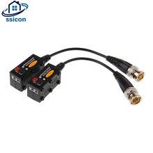 10 пар bnc для utp cat5/5e/6 видео баллон hd адаптер трансивера