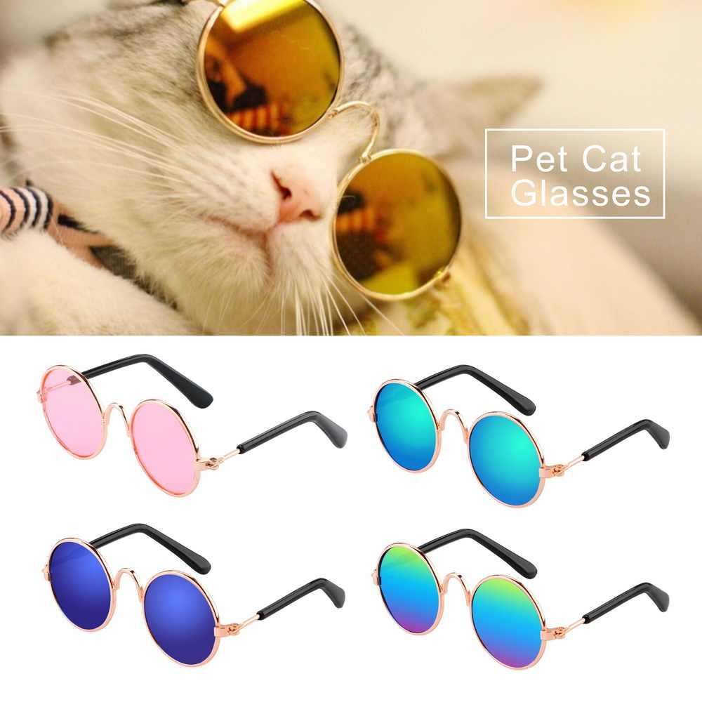 NICEYARD 8.5 ซม.ความยาว MINI PET Cat แว่นตาแว่นตากันแดดรูปภาพ Props อุปกรณ์เสริมสัตว์เลี้ยงอุปกรณ์แว่นตาสุนัขสัตว์เลี้ยงผลิตภัณฑ์