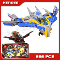 665pcs Super  Guardians of the Galaxy Milano Spaceship Rescue 10251 Assemble Building Blocks Gamora Compatible with Lago|Blocks|Toys & Hobbies -