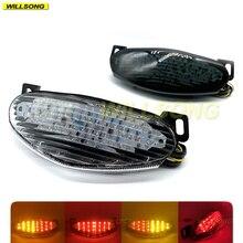 LED Hinten Schwanz Bremslicht Blinker Blinker Integrierte Lampe Für KAWASAKI ER6N ER6F 2009 2010 2011 Jahr Motorrad Zubehör