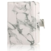 TRASSORY Travel Leather Marble Passport Cover Colorful Organizer Protector Rfid Blocking Passport Holder Case недорого
