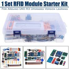 Kit RFID para principiantes, Arduino UNO R3, versión mejorada, Suite de aprendizaje con caja de venta al por menor