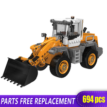 The Off Road Technic XingBao New 03035 Construction Forklift Excavator Set Building Blocks bricks Toys boys Funny Christmas Gift