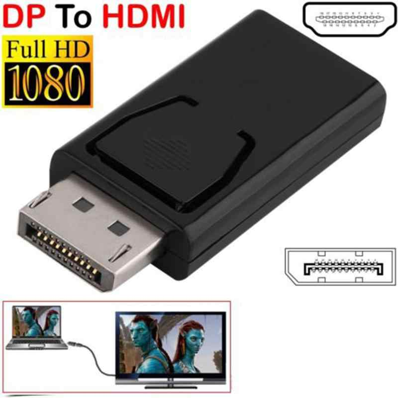 Display Port DP Stecker auf HDMI Buchse Adapter Converter Dp Zu Hdmi Konverter HDTV Kabel Adapter Video Audio Für PC TV Projektor
