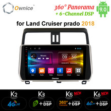 "Ownice 10,1 ""Android 9,0 coche DVD 360 Panorama GPS Navi k3 k5 k6 para Toyota Camry 2017 coche de 2018 estéreo de 4G LTE DAB + DSP SPDIF 360(China)"
