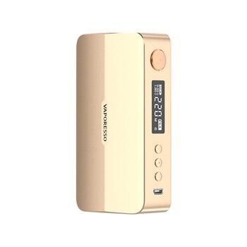 Vaporesso – Cigarette électronique GEN X 220W, boîte TC, MOD, mode d'impulsion, alimenté par deux piles 18650, réservoir NRG GT, bobine
