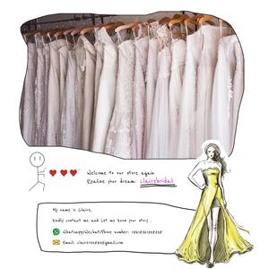 Image 5 - Plus Size Prom Dresses 2019 Long Evening Gowns Plunging V Neck Long Sleeves Mermaid Prom Gowns Sparkly Sequine Party Dress CP155