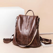 Luxury Famous Brand Designer Women Leather Backpack Female Casual Shoulders Bag Teenager School Bag Fashion Women's Bags nucelle brand design women s fashion color blocking cover casual cow leather girls ladies backpack shoulders travel school bag