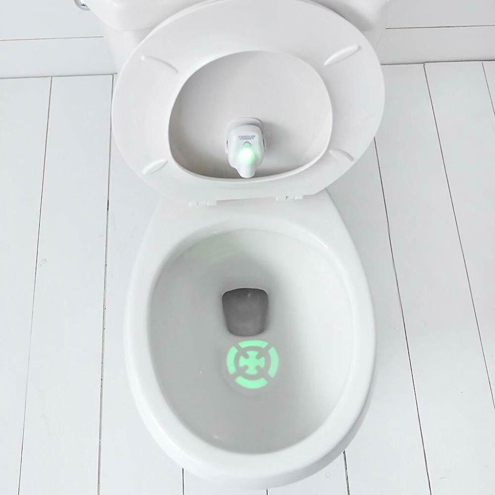Toddler Target Toilet Potty Night Light Training Learning Easy Fast Fun Motion Sensor Activated Projection Lamp