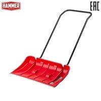 Скрепер hammer red 800 for garden or backyard, garden tool, garden and garden, garden tools, domestic snow plow