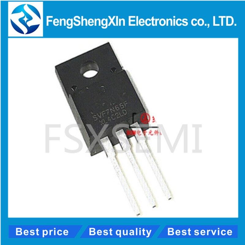 5 PCS KHB7D0N65F2 N CHANNEL MOS FIELD EFFECT TRANSISTOR TO-220F NEW