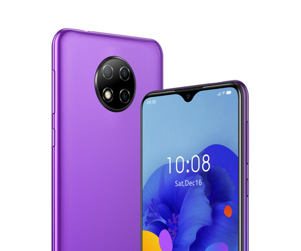 OUKITEL C19 6.49 inch 4G LTE Smartphone Android 10.0 Mobile Phone Quad Core 2G RAM 16G ROM 4000mAh Global Version 3 Rear Cameras