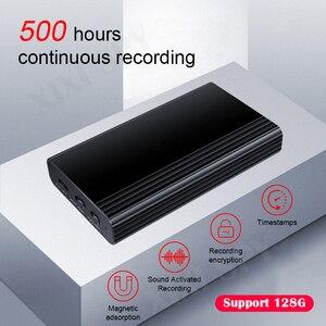 Image 1 - Диктофон XIXI SPY 500 часов, диктофон, ручка, аудио звук, мини активация, цифровой профессиональный микро флеш накопитель