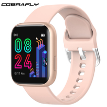 Cobrafly P4 Smart Watch Women Men 1.4 Inch Full Touch Screen IP67 Waterproof Heart Rate Monitor Clock PK P68 P70 P80 for Xiaomi