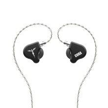 TANCHJIM – écouteurs intra-auriculaires, oreillettes Audio, pilote dynamique, hi-fi, plaqué or, 3.5mm, couleur argent, haute pureté