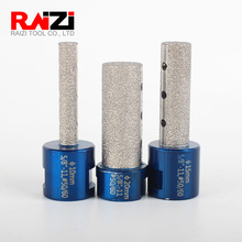 Raizi 1 Pc Diamond Finger Bits For Porcelain Ceramic Tile Granite Marble 10/15/20/25 mm Brazed hole Enlarge Shape Milling Bit