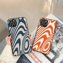 Liquid Swirl Abstract Pattern Phone Case For iphone 5s 6 7 8 11 12 plus xsmax xr pro mini se Cover Fundas Coque
