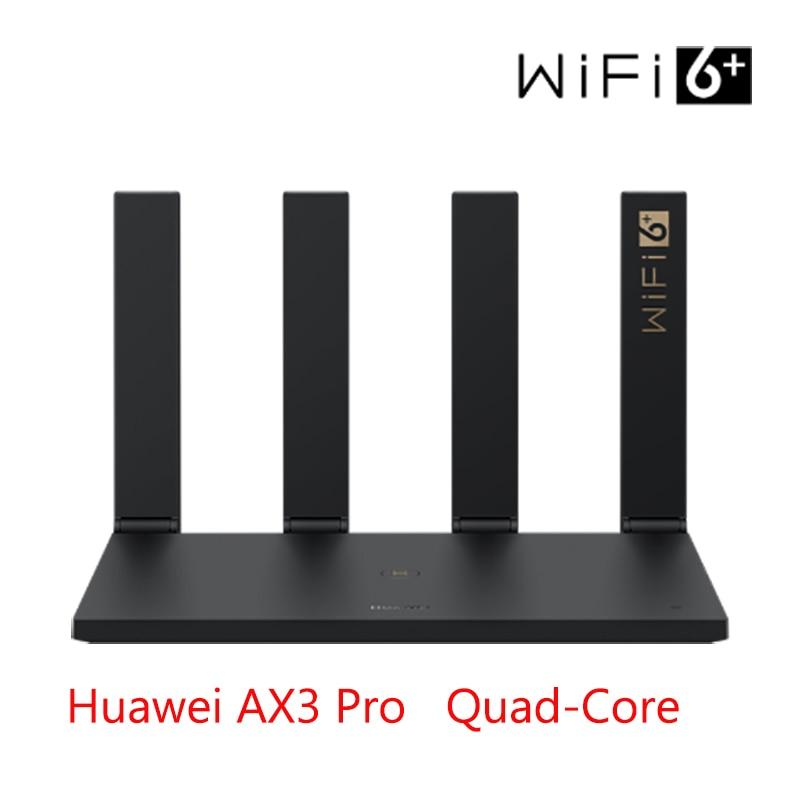 Original Huawei WiFi AX3 Pro Quad-core Dual-core Router WiFi 6+ 3000Mbps 2.4GHz 5GHz Dual-Band Gigabit Rate WIFI Wireless Router