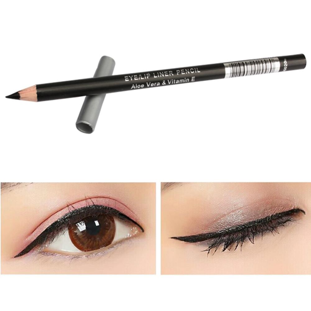 New Waterproof Black Eyeliner Pencil Eye Liner Makeup Tool Cosmetic Pen  SCI88